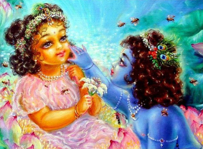 явление Шримати Радхарани - Радхаштами