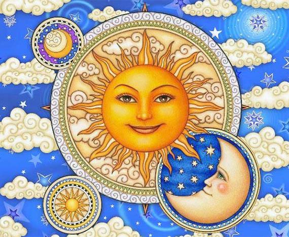 Акшая Тритья - Солнце и Луна
