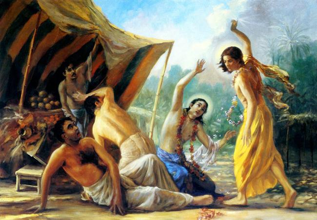 Когда засранец совершает Вайшнава апарадху его преданное церковная служба совсем разрушается